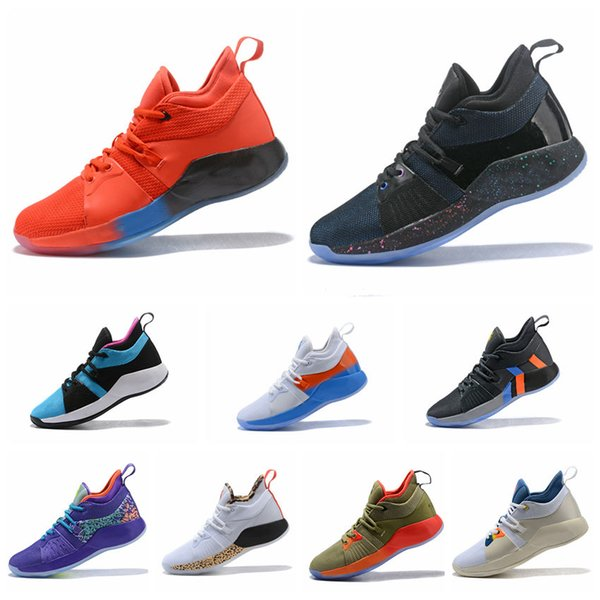 new york a39d6 74a4d Acheter AAA + Top Qualité PG 2 Playstation Taurus All Star Bas Dessus  Maille Mars Madness Road Maître Chaussures De Basketball Paul George PG2 2s  Taille40 ...