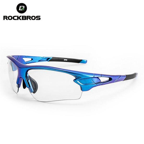 ROCKBROS Outdoor Riding  Cycling Sunglasses PC Photochromic UV400 Sunglasses New