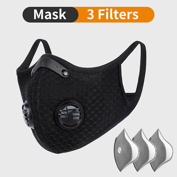 Mask with 3 Filters