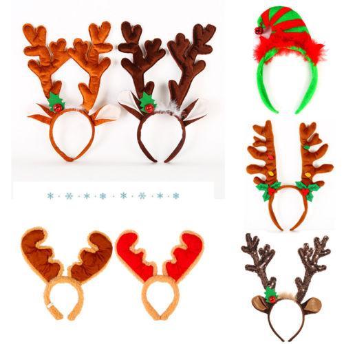 Christmas Headbands Head Bopper Novelty Christmas Fun Fancy Dress Head Wear