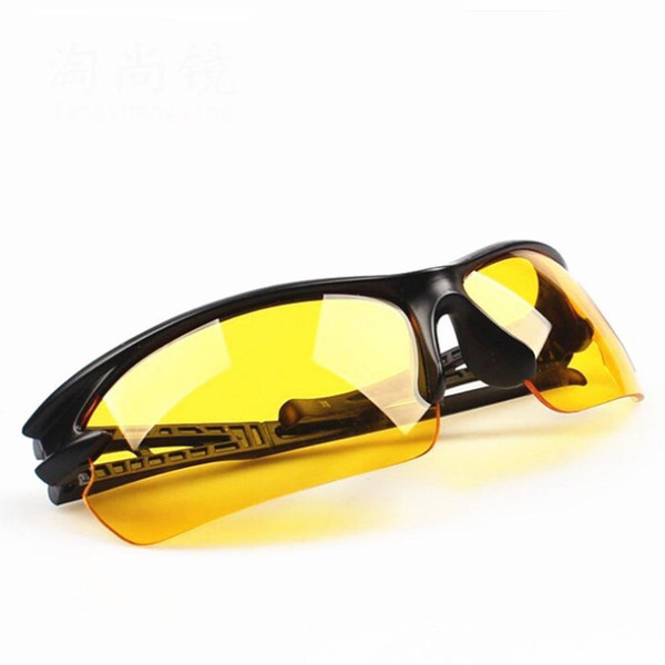 Hot Night Driving glasses Anti Glare Glasses For Safety Driving Sunglasses Yellow Lens Night Vision Goggles