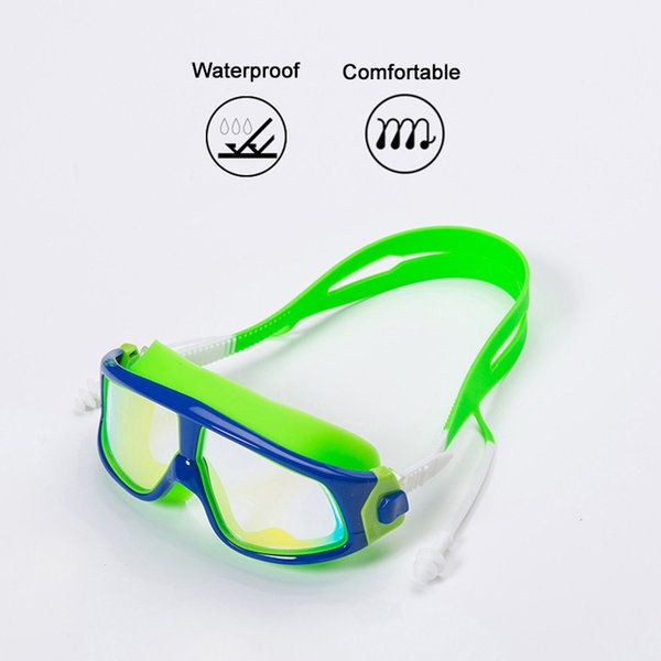 Kids Swimming Goggles Anti-fog UV Waterproof Swimming Glasses for Summer DX88