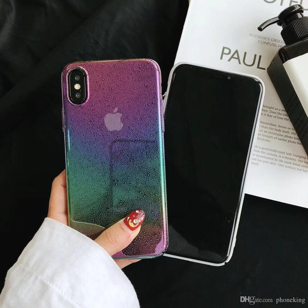 Colorful Cover For iPhone Full Color Creative Beautys Back Fashion Phone Cover iPhone6/7/8 Phone Case 0.6MM