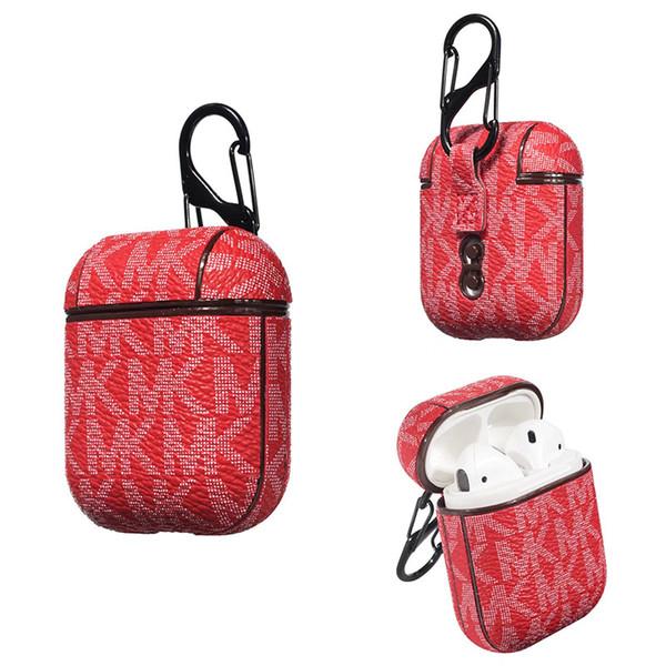 Neue Luxusmarken-Kopfhörerabdeckung für austauschbare Airpod-Hüllen von Airpods Fashion Design Für 100% AirPod-Schutz
