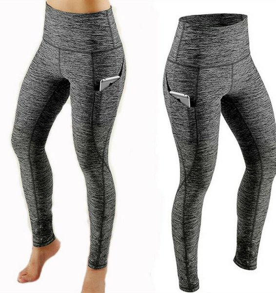 grey leggings sport women fitness yoga pants women squat-proof sports yoga pants workout running gym tight sport leggings, White;red
