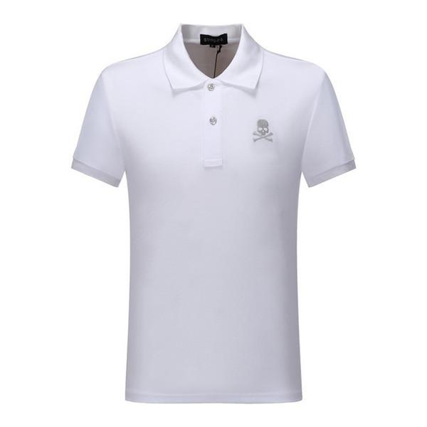 PP Moda de manga Curta roupas de verão t camisas para homens T 2019 novos produtos Broca camuflagem osso designis