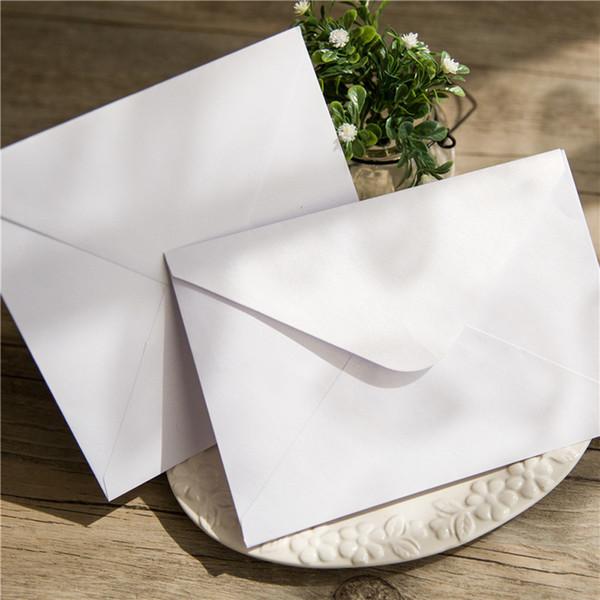 10Pcs/set Iridescent Paper Wedding Invitation Card Envelope Delicate Glitter Envelope Decorations for Party Celebration Birthday