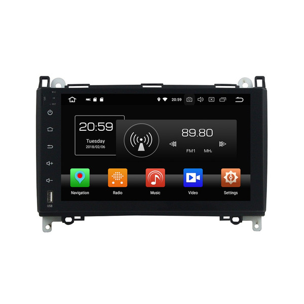 "4GB+32GB PX5 Octa Core 9"" Android 8.0 Car DVD Player for Mercedes Benz B200 W169 W245 Viano Vito Car Radio GPS Audio WIFI Bluetooth TV USB"