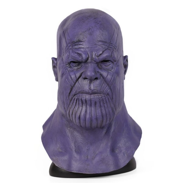 4 Endgame Infinity Gauntlet Cosplay Thanos Mask Marvel Superhero Cos Masks Halloween Party Collection Props
