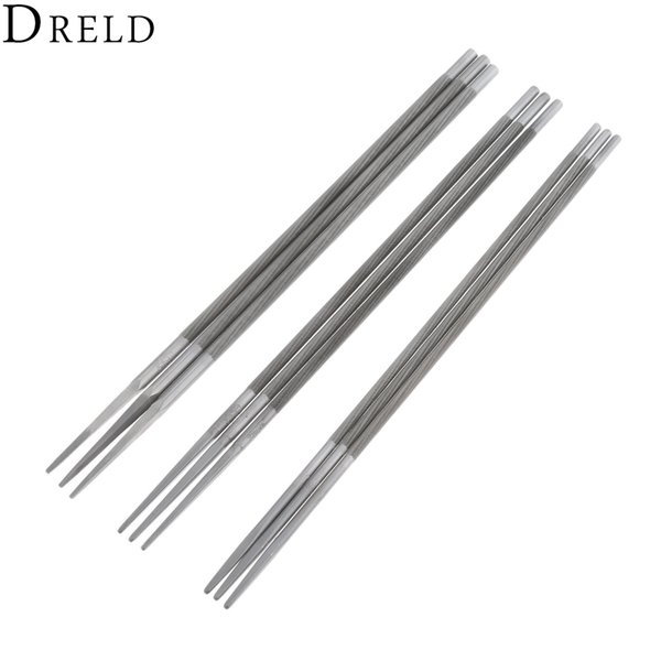 2019 Files DRELD High Carbon Steel Round Saw Chain File Set Chainsaw  Sharpener Size 5/32 3/16 7/32 Metalworking Tools From Toy1234, $21 2 |  DHgate Com