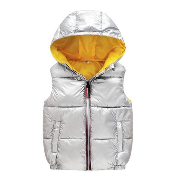Çocuk Ceket Bebek Kız Yelek Ceketler Bahar Sonbahar Çocuklar Yelek Sıcak Kapüşonlu Giyim Ceket Yürüyor Boys Ceket Giyim