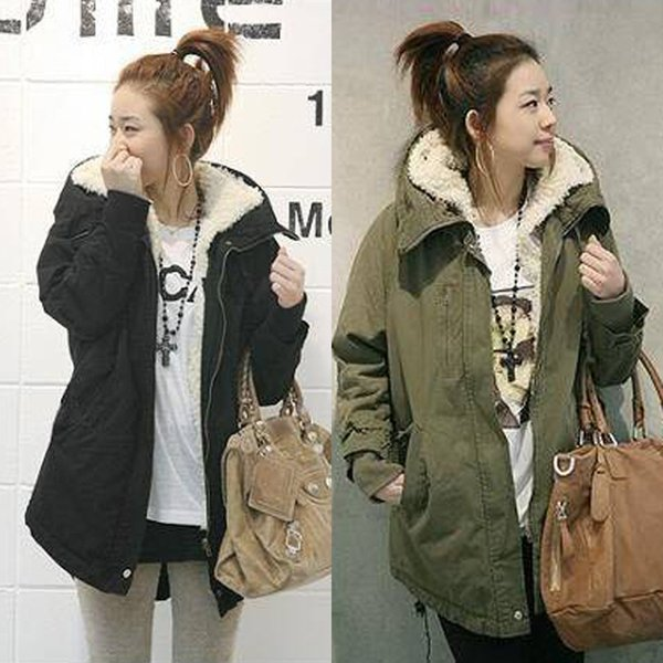 2018 New Parkas Female Women Winter Coat Thickening Cotton Winter Jacket Womens Outwear Parkas for Women Clothes Clothing