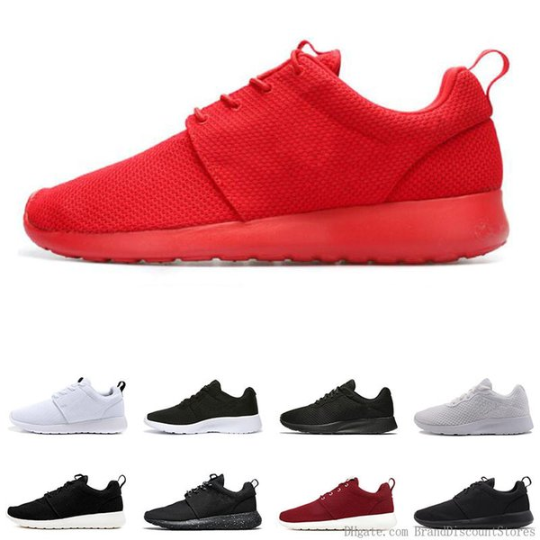 Original Tanjun Run Running Shoes For Men Women Black White Red Navy Blue Lightweight Breathable Mens Trainer London Olympic Sports Sneakers