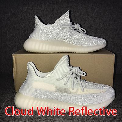 Clond White Reflective