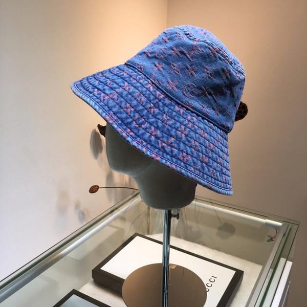Niñas Diseñador de lujo Playa Sombrero para el sol Sombrero de paja floral Moda al aire libre Gorros en estilos de mezcla de verano