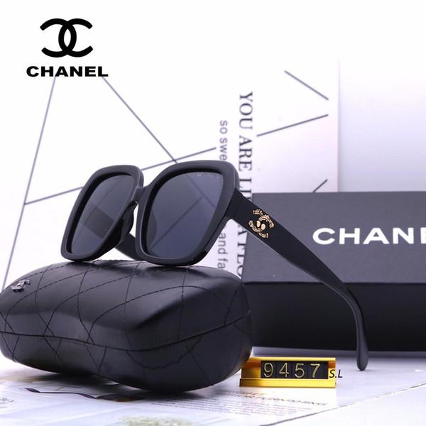 Livraison gratuite de la mode de la marque de lunettes de soleil lunettes de soleil rétro vintage hommes marque designer brillant cadre en or laser logo femmes top qualité avec 5268 boîte