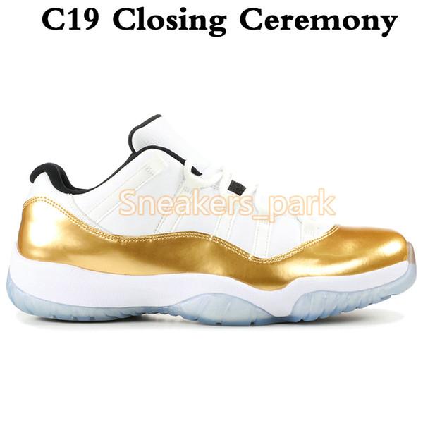 C19 Düşük Kapanış Töreni