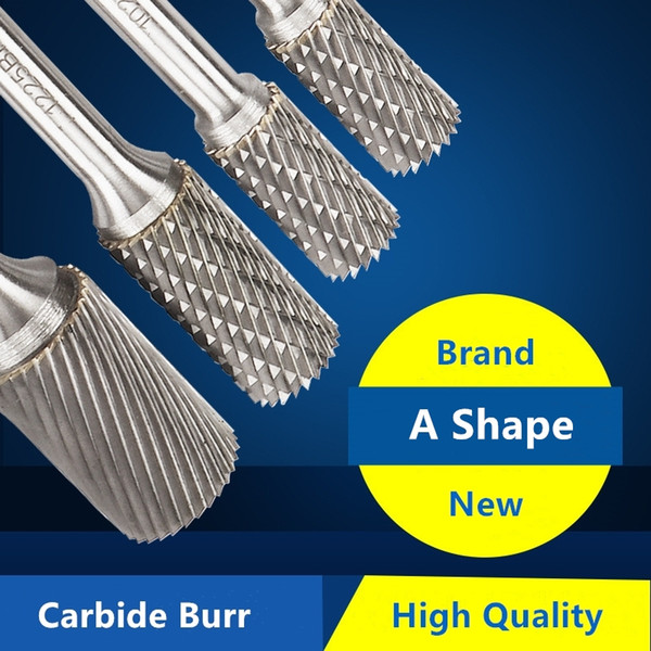 Carbide Burr Spiral Cut Die Grinder Australia - CONE Shape All Sizes