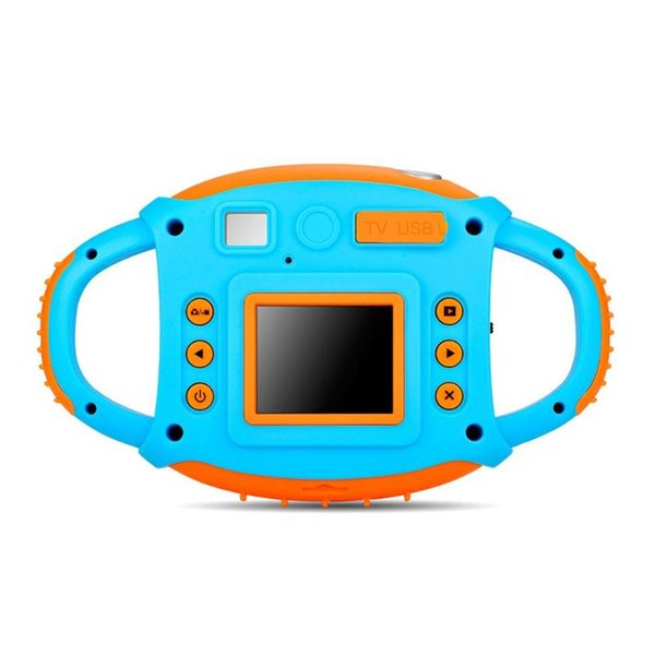 Cartoon 1.77inch Mini LCD Camera 5MP 720P Digital Children Funny Automatic Photo Frame Camcorder With Hang Rope Kids Gift