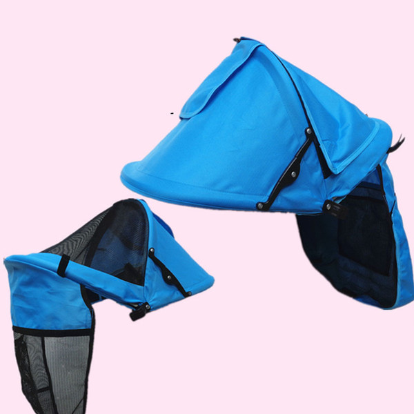 Cover Blackout Blind Front Hatching Baby Oxford Adjustable Windproof Stroller Sunshades Foldable Warm Multipurpose Sightseeing