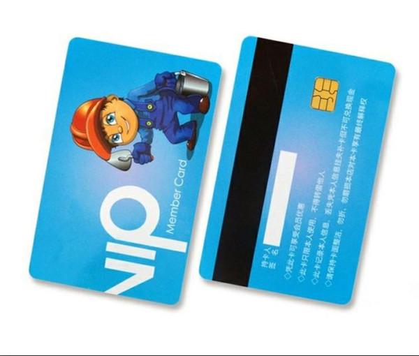 Großhandel 500 Teile Los Kreditkartengröße Cr80 Kontaktlose Smart Pvc Plastikkarte Mit Chip Und Magnetstreifen Von Hellen8599 266 34 Auf