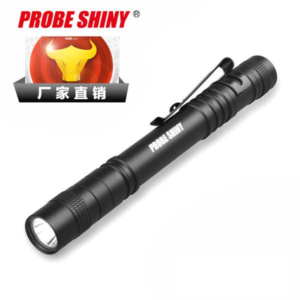 Işık Mini-Led Küçük El Feneri Tıbbi Işık Kalem Alüminyum Alaşım El Feneri Beyaz Işık Kalem Klip Getirmek