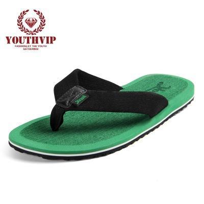 Tongs Hommes D'été Cool Plate-Forme Sandales Hommes Chaussures De Plage Des Pantoufles Confortables Sandales Plat pour Plus La taille 43