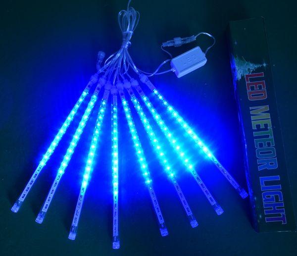 Американский стандарт LED метеоритный дождь 30 см 8 комплектов светодиодных метеор фара светодиодных шторы Рождество зажигает яркое украшение