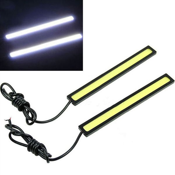 Decorative Lamp 12V Driving Waterproof Car Fog 95 Light For 6W Styling High Miaotang45 LED 2019 Strip Car Auto DRL From Power Atmosphere thdxsrBQC