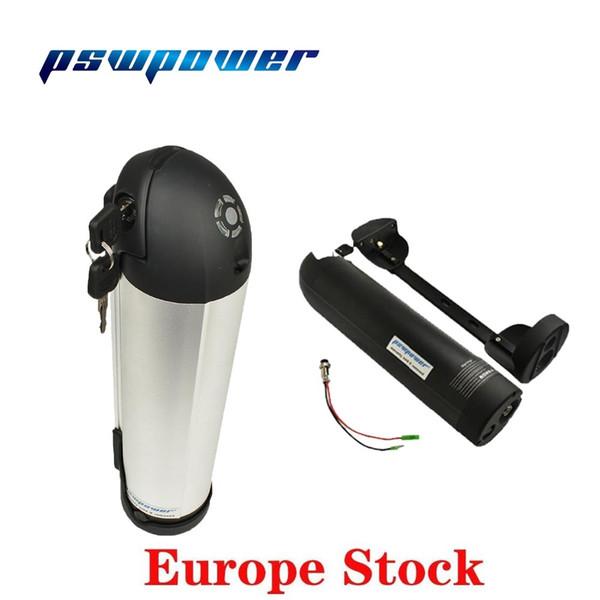 Europe or USA stock Hailong Electric Bike Bottle Battery Pack 48V 12.8Ah or 36V 13Ah for bafang BBS02B 750W BBS01B 350W motor