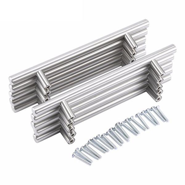 50500mm Stainless Steel Cabinet Hardware 305 Series Bar Pulls Knobs Furniture Antique Shell Handles Tiradores De Home Decor