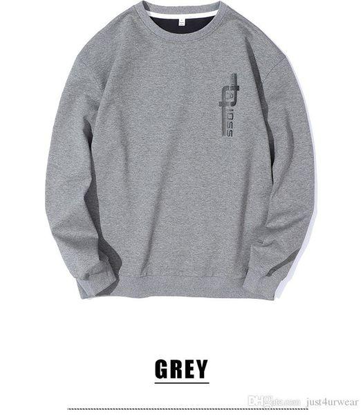 Mens Marca de Moda Hoodies O-pescoço Pullover Camisolas Carta Impressão Casual Tops Hommes High Street Hoodies Soltos