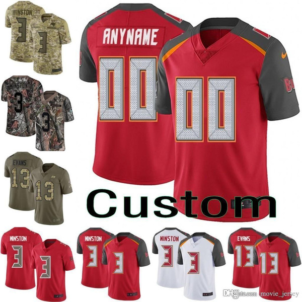 newest 94413 7cd1b 2019 Men Youth Women Tampa Bay Red Speed Machine Custom Kwon Alexander O.J.  Howard Limited Jason Pierre Paul DeSean Jackson Buccaneers Jersey From ...