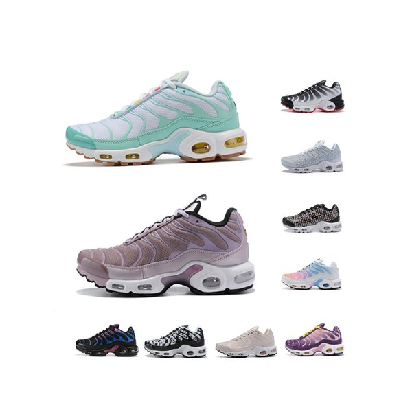 Free Shipping Latest Classic Woman Designer Sneakers Woman plus Running Shoes Rainbow tn sports outdoor shoes
