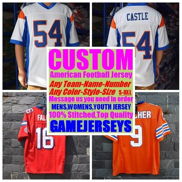 best selling Custom american Football Jerseys College cheap authentic hot sale discount sports jersey stitched mens womens youth kids 4xl 5xl 6xl 7xl 8xl