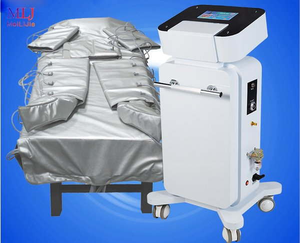 Qualitäts-Luftdruck-Körpermassage Infrarotgeräte pressotherapy Massage Lymphdrainage Abnehmen Anzug Luftwellentherapiesystem