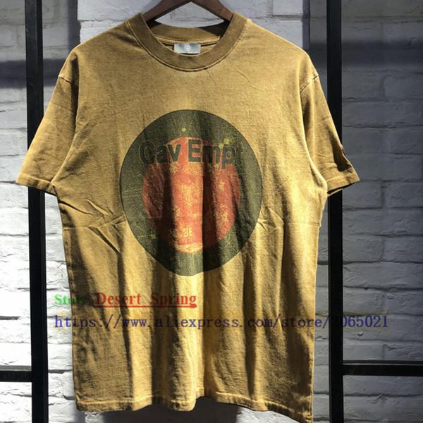 1:1 Best Quality C.e Cav Empt T-shirt Men Women Distressed Tie Dyeing T Shirts Skateboard Cav Empt T Shirts Top Tee