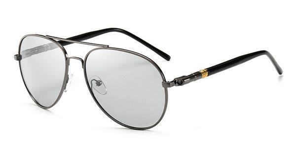 5b6d0ed55f Gafas de sol polarizadas clásicas con cambio de color Gafas de sol de conducción  para hombre