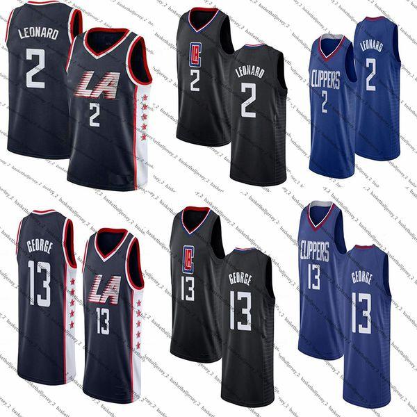 Ncaa Kawhi 2 Leonard Jersey Paul 13 George 11 Irving Luka 77 DONCIC Giannis 34 Antetokounmpo Hombres College Baloncesto Jerseys