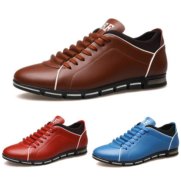 Black Fashion Designers 2020.2019 2020 Wholesale Men Shoes Black Wine Red Brown Fashion Designers Casual Shoes Dropshipping Size 39 44 Style 22 From Sports Shoes 2019 86 44