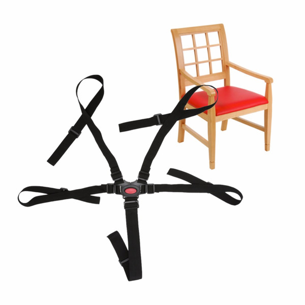 accessories Universal Baby 5 Point Harness Safe Belt Seat Belts For High Chair Pram Buggy Children Baby Belt Stroller Accessories