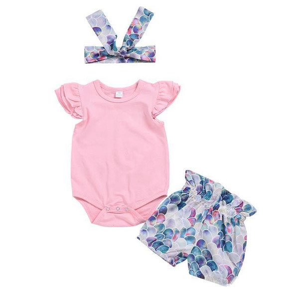 327a77823725f Cute Infant Newborn Baby Clothes Romper Pink Floral Summer Baby Newborn Girl  Take Coming Home Outfit