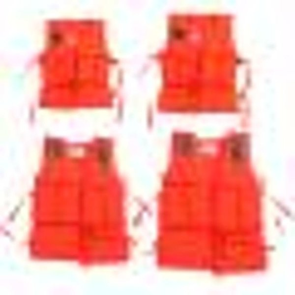 Kids Life Practical Vest with Survival Whistle Water Sports Foam Adult Life Jacket for Drifting Swimming Water-skiing Surfing
