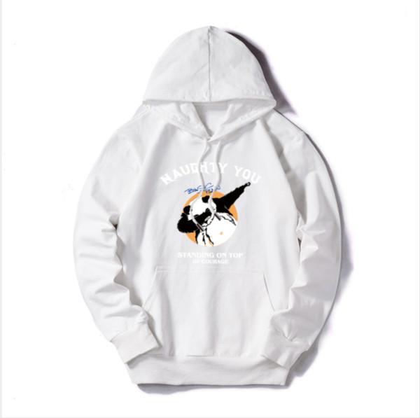 Men's Luxury Hoodies Brand Sweatshirt Sweaters Autumn Brand Men Hoodie Asia Plus Size M-5XL 5 Colors Solid Color Streetwear Panda Print 05