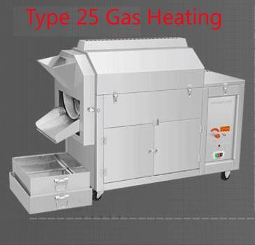 25 chauffage à gaz de type
