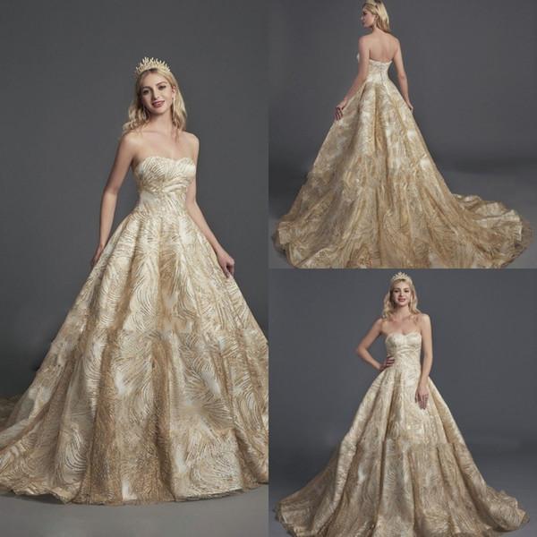 2019 Glamorous Sin mangas A Line Vestidos de baile Sweetheart Bling Bling Lentejuelas Vestidos de quinceañera Vestidos formales Vestidos de noche por encargo