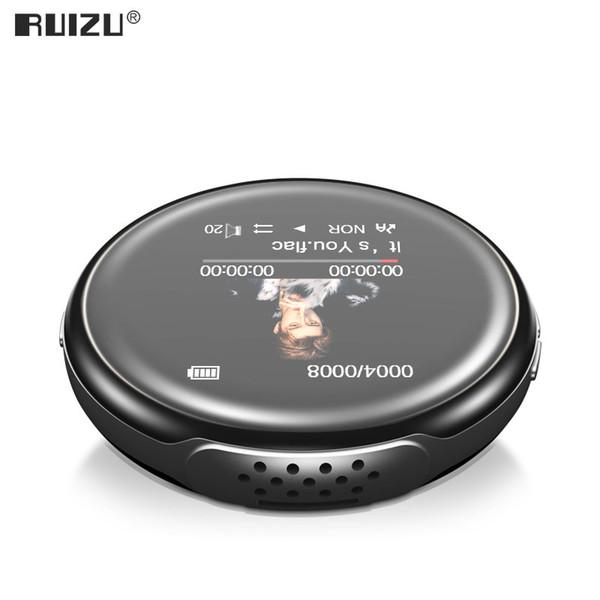 Nuovo arrivo originale RUIZU M1 sport Bluetooth MP3 Player 8GB / 16GB con lo schermo di sostegno FM, registrazione ,, orologio, contapassi