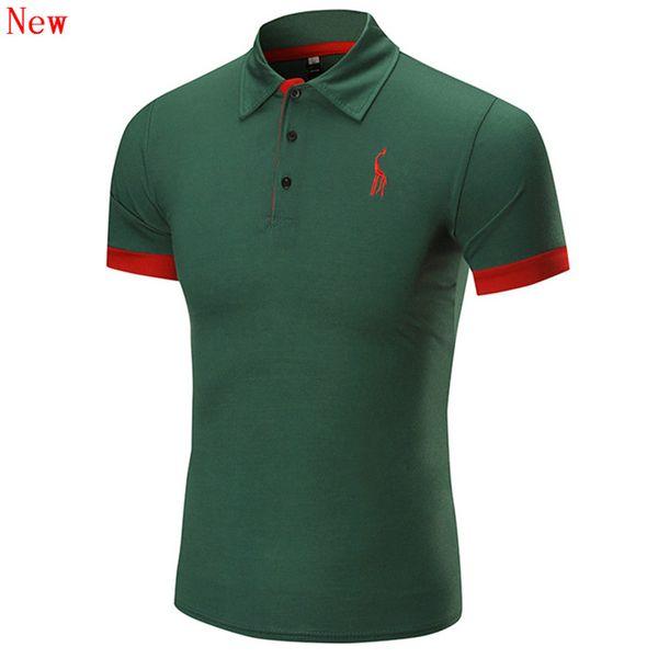 Livraison gratuite neuf de haute qualité de broderie Polo homme pour les hommes Designer chemise à manches courtes Polos Coton Marques WN13