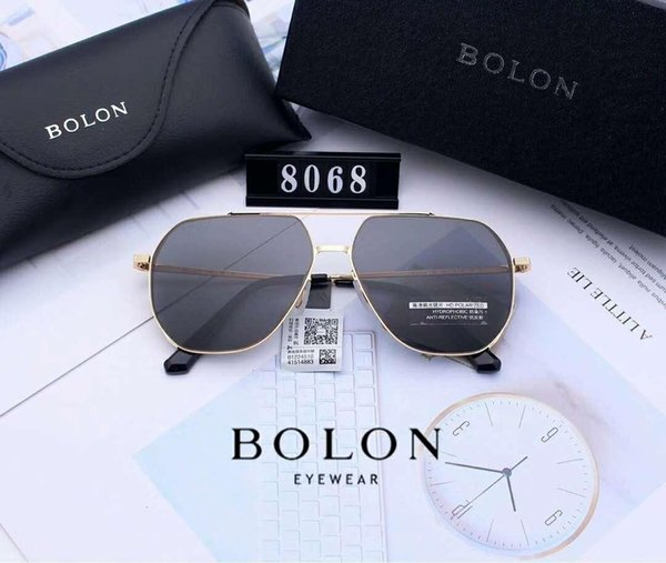 Designer Sunglasses Luxury Sunglasses Fashion for Man Glasses Driving UV400 Adumbral with Box and Logo B8068 High Quality New Hot Top