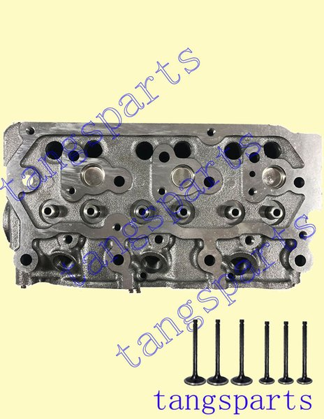 best selling New S3L Cylinder head with valves For Mitsubishi engine fit 2004 Mahinadra 3016 Shuttle tractor